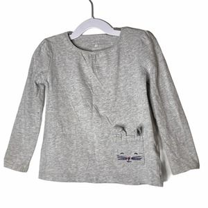 4/$20 Girls Bunny Long Sleeve Top Size 4T